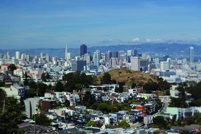 Bay Area cityscape